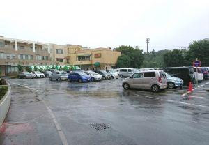 平和台病院 駐車場